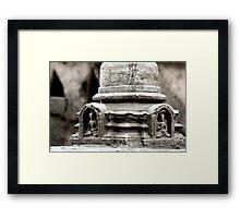 Buddha Balance Framed Print
