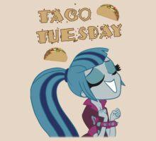 Sonata Dusk - Taco Tuesday - MLP FiM - Brony by IanShaffer