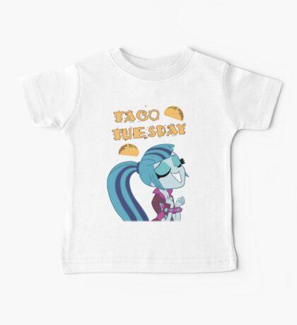 Sonata Dusk - Taco Tuesday - MLP FiM - Brony Baby Tee