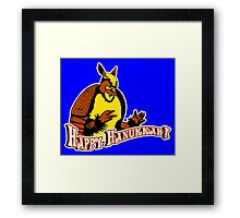 Friends: Holiday Armadillo Framed Print