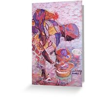 Time to eat Greeting Card