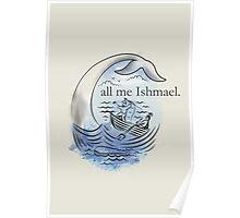 Call me Ishmael. Poster
