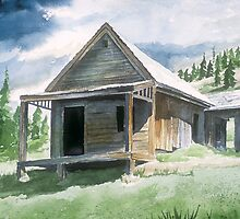 Storms Over-Animas Foks Ghost Town by Richard Mordecki