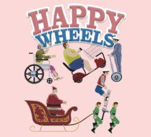 Happy Wheels design Kids Tee