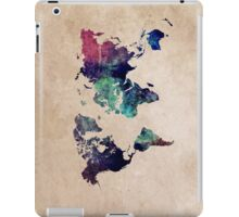 World Map cold World iPad Case/Skin