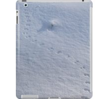 Animal Tracks on Snow iPad Case/Skin
