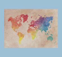 World Map maps Kids Tee