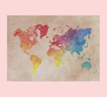 World Map maps Kids Tee