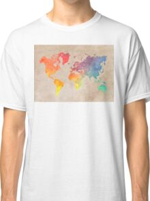 World Map maps Classic T-Shirt