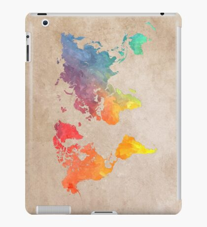 World Map maps iPad Case/Skin