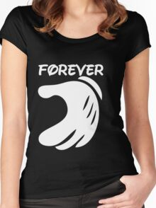 Forever Women's Fitted Scoop T-Shirt