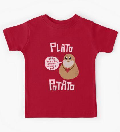 Plato Potato Kids Tee