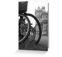 Parked up Greeting Card