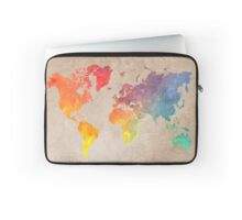 World Map maps Laptop Sleeve