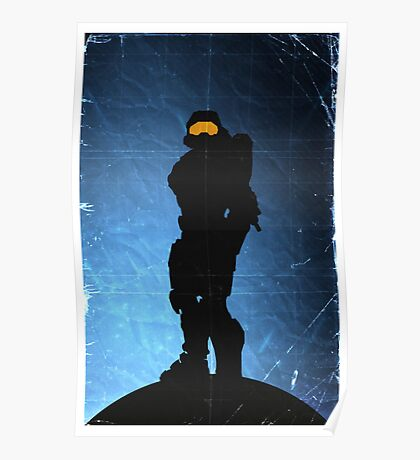 Halo 4 - Spartan 117 Poster