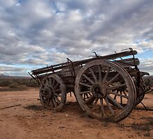Abandoned Wagon • South Australia by William Bullimore