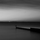 Night falls over the bay by Adrian Cusmano