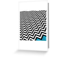 ZIGZAG Greeting Card