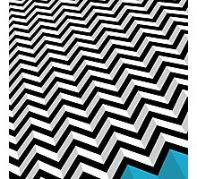 ZIGZAG Photographic Print