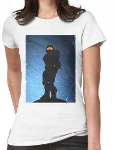 Halo 4 - Spartan 117 Womens Fitted T-Shirt