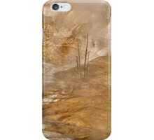 Scalded Yellowstone Tree iPhone Case/Skin