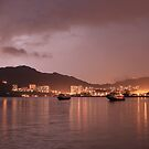 Storm over Lantau by Ursula Rodgers