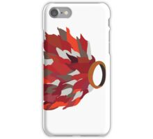 Ring in fire  iPhone Case/Skin