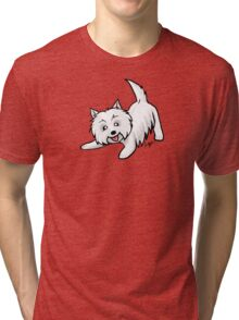 West Highland Terrier Tri-blend T-Shirt