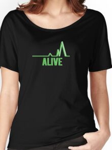 Alive Women's Relaxed Fit T-Shirt