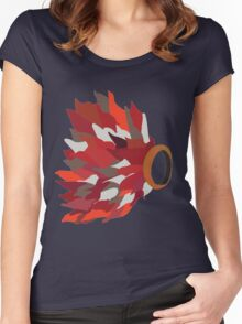 Ring in fire  Women's Fitted Scoop T-Shirt