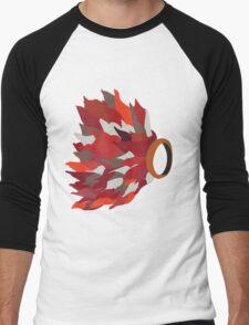 Ring in fire  Men's Baseball ¾ T-Shirt