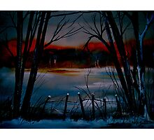Night and Silence.. Photographic Print
