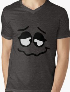 Funny Faces Mens V-Neck T-Shirt