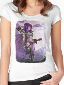 Elf Huntress Women's Fitted Scoop T-Shirt