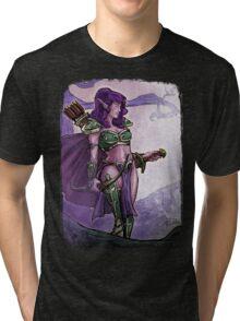 Elf Huntress Tri-blend T-Shirt