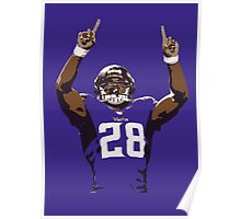 Adrian Peterson - Minnesota Vikings Poster