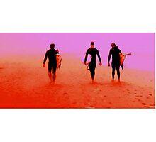 Surfers, Ocean Beach San Francisco 1 Photographic Print