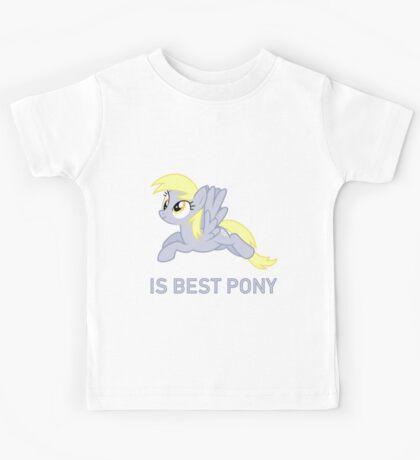 Derpy Is Best Pony - MLP FiM - Brony Kids Tee