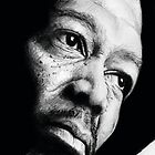 Morgan Freeman - graphite by Dave Gaskin