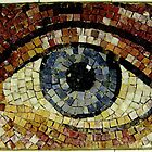 Mosaic Eye New York City USA by Mark P Hennessy