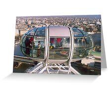 'Eye Pod' The London Eye London, UK Greeting Card