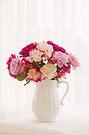 Roses By The Window by Carol Knudsen