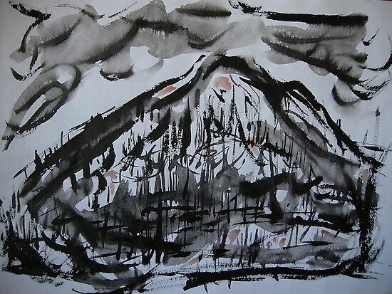 scorched peak... after the inferno by banrai