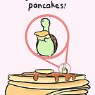 "Sheldon the Tiny Dinosaur Valentine - ""Pancakes"" by Odyanii"