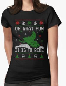 Snowmobile Ugly Christmas Tees T-Shirt