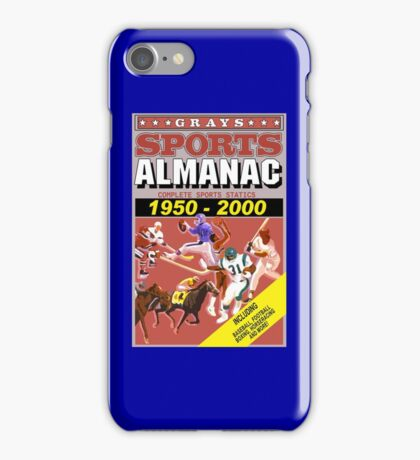 BTTF: Sports Almanac iPhone Case/Skin