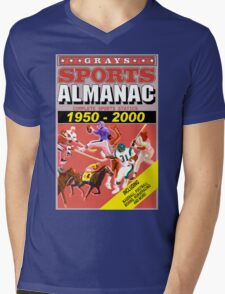 BTTF: Sports Almanac Mens V-Neck T-Shirt
