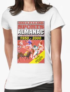 BTTF: Sports Almanac Womens Fitted T-Shirt
