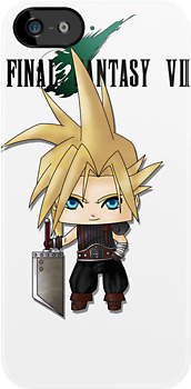 Chibi Cloud by artwaste
