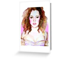 Pale Fire Greeting Card